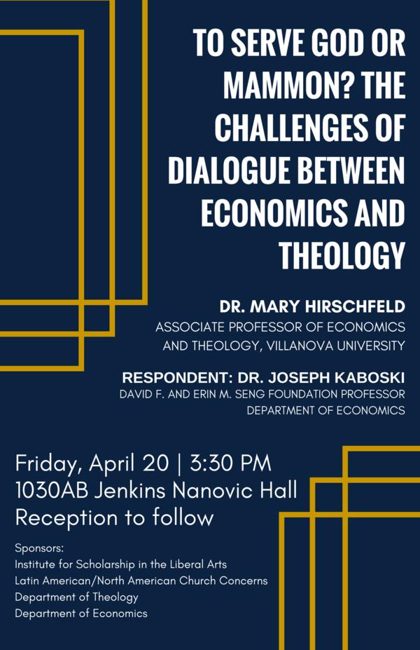 Associate Professor Of Economics And Theology Villanova University 1